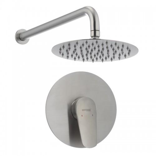 Вбудована душова система MIXXUS BOX-003 нерж. сталь SS0043 Картинка 100204288