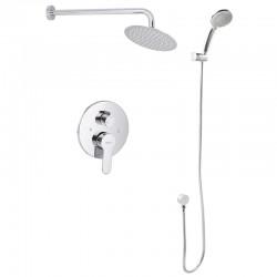 Вбудована душова система зі змішувачем і тропич. душем ZERIX LR2403-2 LL1210