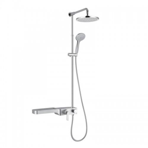 Душевая система Q-tap 1104 SIL Картинка 10202144