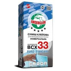 Клей для плитки Anserglob ВСХ-33 зима от -5 С 25кг