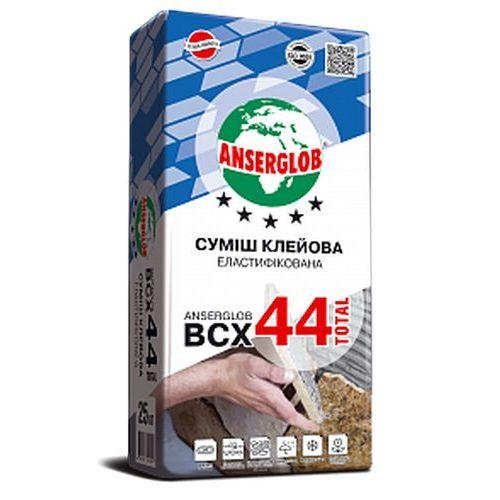 Клей для керамогранита Anserglob BCX 44 25кг Картинка 70506001
