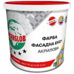 Краска акриловая Anserglob Фасад ЭКО+ 7кг