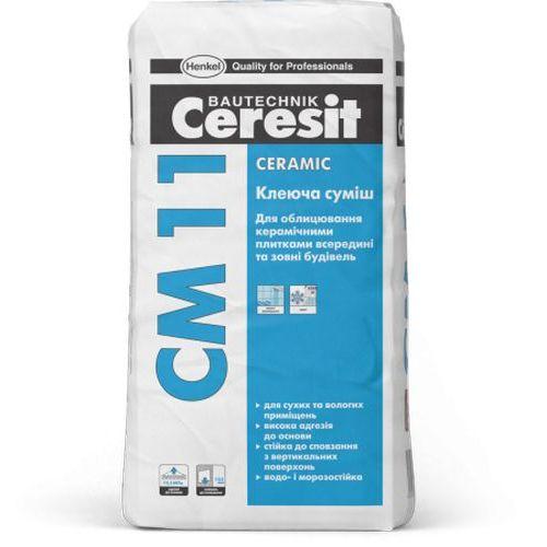 Клей для плитки Ceresit CM 11 25кг Картинка 70512001