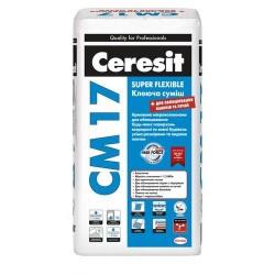 Клей для плитки эластичный Ceresit CM 17 25кг