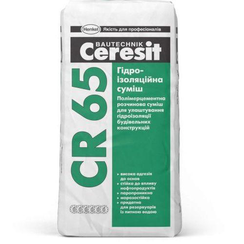 Гидроизоляционная смесь Ceresit CR 65 25кг Картинка 71001001