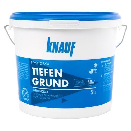 Грунтовка Knauf Tiefengrund 5кг Картинка 70402031