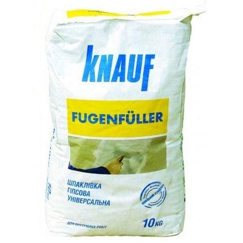 Гипсовая шпаклевка для швов Knauf Fugenfuller 10кг Картинка 71007007
