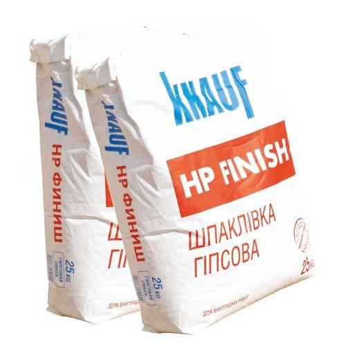 Гипсовая шпаклевка Knauf HP Finish 25кг Картинка 71007001