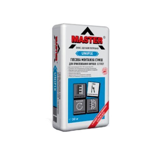 Клей для гипсокартона Master Unifix 30кг Картинка 70503003