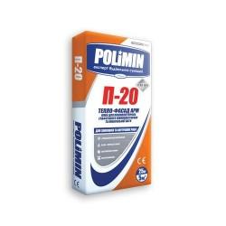 Клей для пенопласта Polimin П 20 25кг армирование