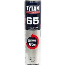 Пена монтажная Титан Pro 750мл зимняя до-20С выход 65л