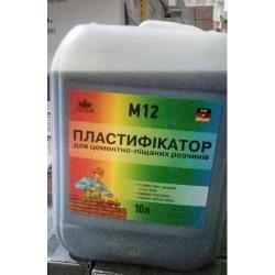 Пластификатор для кладки и штукатурки M12 TOTUS 10л