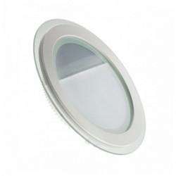 Светильник встраиваемый TM Belson круг 12W-6000 GLASS Картинка