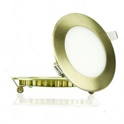 Светильник встраиваемый TM Belson круг 6W-6000 хром Картинка