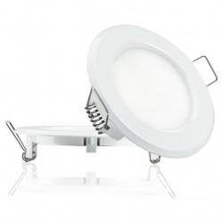 Светильник встраиваемый TM Belson круг 6W-6000 plastic Картинка