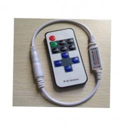 Диммер LED Oselya 12V 72W 6A RF - пуль д/у 11 кнопок белый Картинка