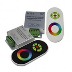 Контроллер LED Oselya 12V 216W 18A (6A на канал) RF пульт сенсорный Картинка