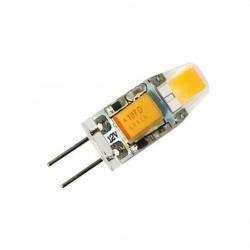 Лампа LED Oselya G4 2W 12вольт 3000к 9,7х21 Картинка