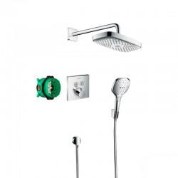 Душевая система Hansgrohe Raindance Select E 27296000 скрытого монтажа с термостатом