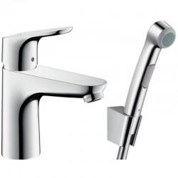 Смеситель для умывальника Hansgrohe Focus 31927000 с гигиеническим душем