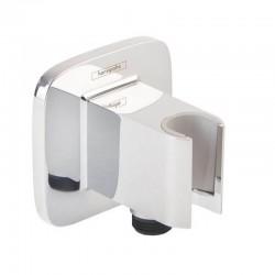 Коннектор Hansgrohe Fixfit Porter E 26485000 с держателем для лейки