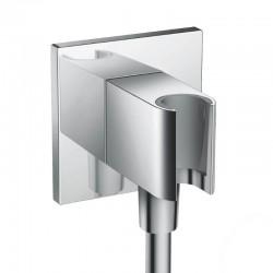 Коннектор Hansgrohe Fixfit Porter Square 26486000 с держателем для лейки