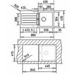Teka KEA 45 B-TG 40143365 карбон