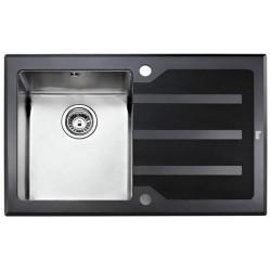 Teka LUX 1B 1D LHD 78 черное стекло 12129007 полированная
