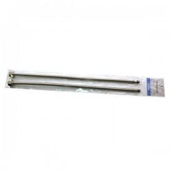 Шланги подвода воды для смесителя М-10 гофра 50см Картинка