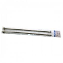 Шланги подвода воды для смесителя М-10 гофра 60см Картинка