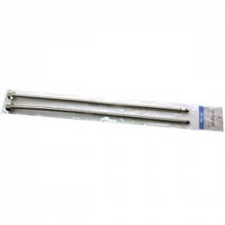 Шланги подвода воды для смесителя М-10 гофра 80см Картинка