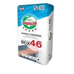 Клей для  мрамора и мозаики ANSERGLOB ВСХ-46 25кг