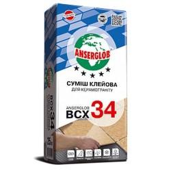 Клей для керамогранита Anserglob BCX-34 25кг