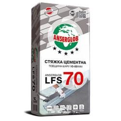 Стяжка цементная Anserglob LFS 70 10-60мм 25кг Картинка