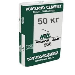 Цемент ПЦ 2-Б-Ш марка 400 Міцний дім 50кг заводская упаковка