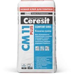 Клей для плитки Ceresit CM 11 Plus 25кг