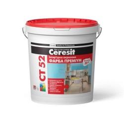 Краска интерьерная акриловая Ceresit CT 52 10л Картинка