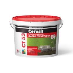 Краска интерьерная акриловая структурная Ceresit CT 53 10л Картинка