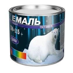 Краска Эмаль ПФ-115 темно-коричневая 2,5кг