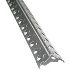 Уголок перфорированный алюминиевый 3м Картинка
