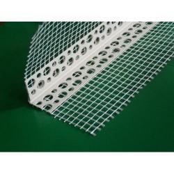 Уголок пластиковый со стеклосеткой 2,5м