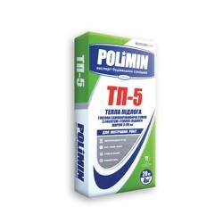 Пол наливной самовыравнивающийся Polimin ТП-5 20 кг