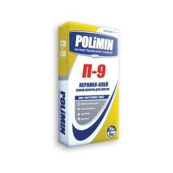 Клей для плитки Polimin П 9 25кг Картинка