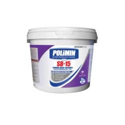 Штукатурка силиконовая барашек Polimin SВ-15  1,5 мм 25 кг Картинка