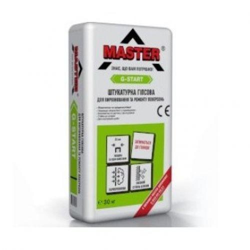 Гипсовая штукатурка Master G-Start 30 кг Картинка