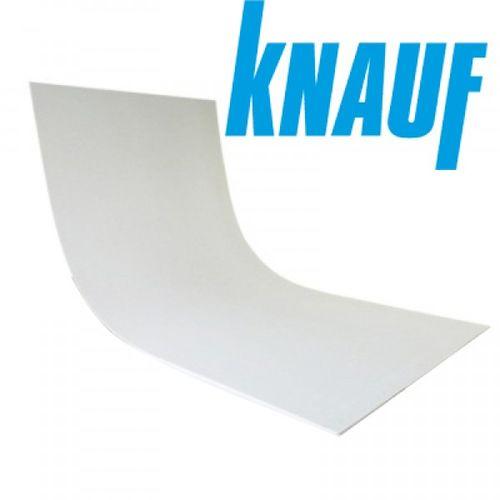 Гипсокартон арочный Knauf гибкий 2500мм 1200мм 12,5мм Картинка