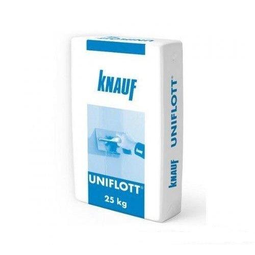 Гипсовая шпаклевка для стыков Knauf Uniflott 25кг Картинка